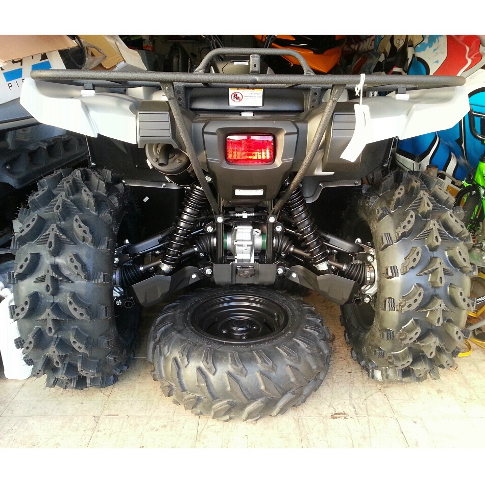 Yamaha Grizzly  Tire Size