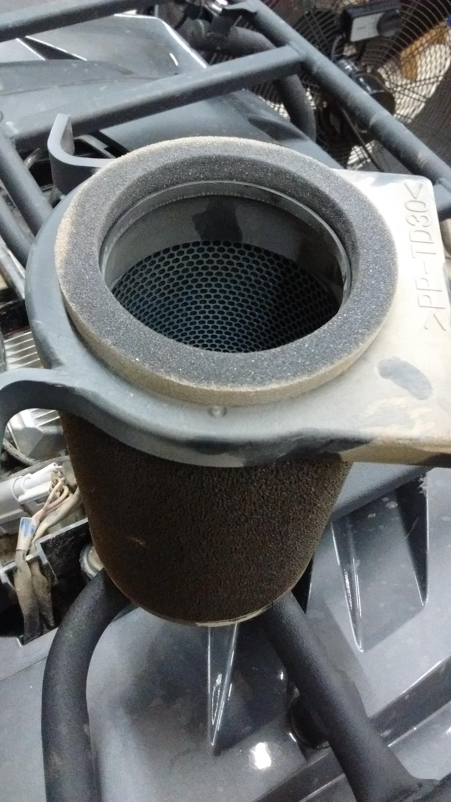 Air filter problems on a 2016 Kodiak 700 - Yamaha Grizzly ATV Forum