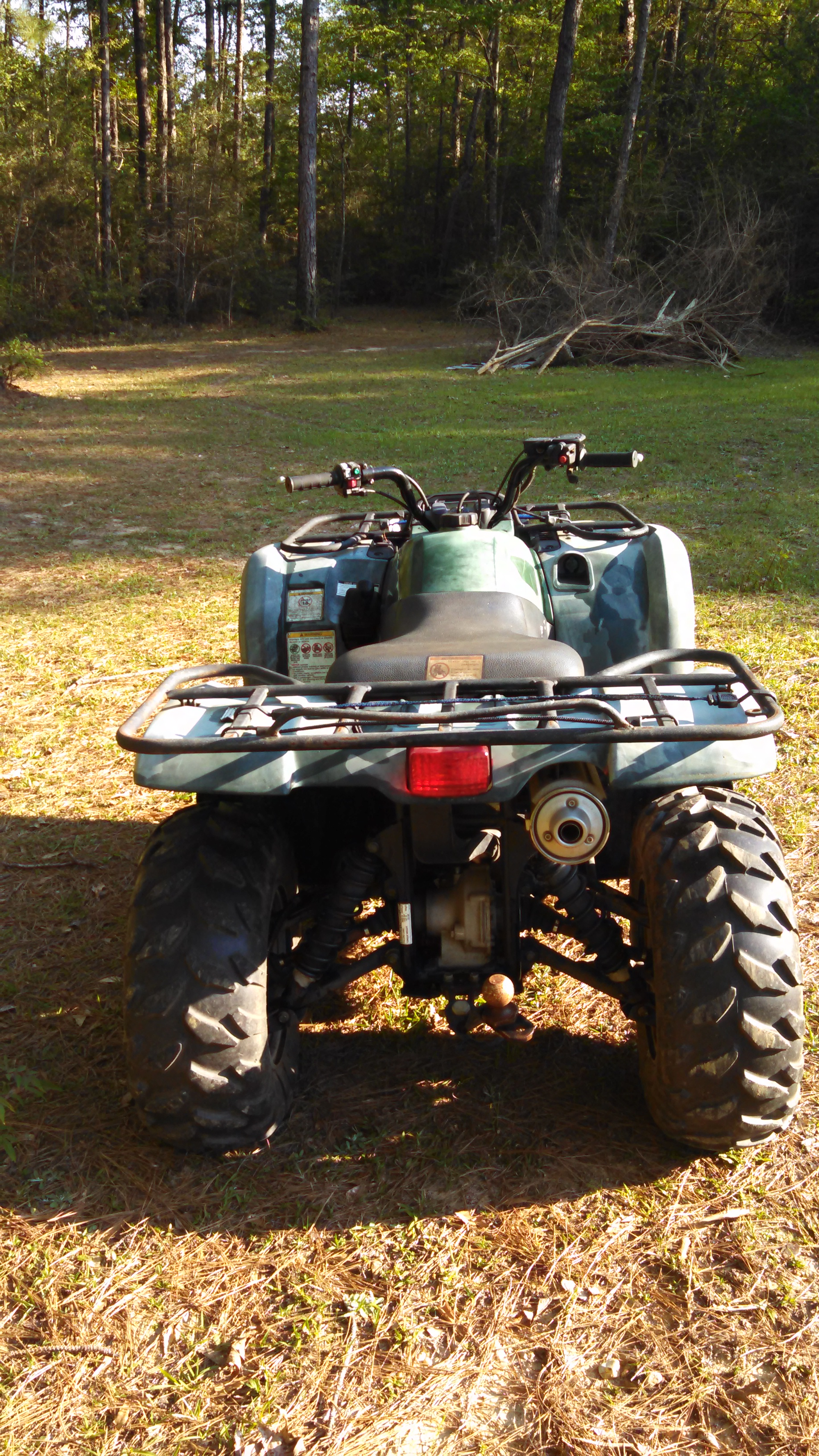 For sale 2007 yamaha grizzly 450 low miles and hours for Yamaha grizzly 450 for sale