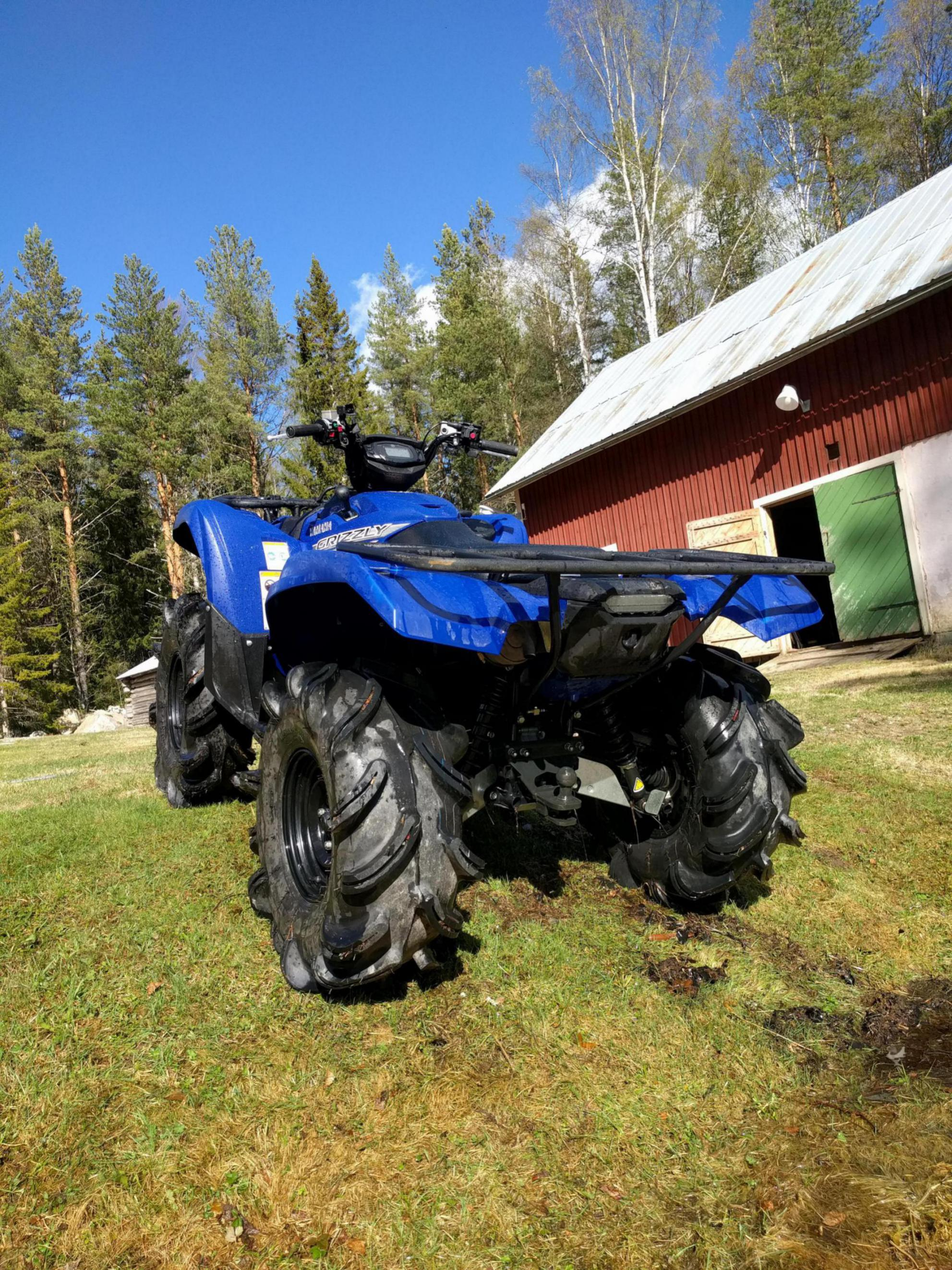 2017 Yamaha Grizzly >> 29,5 outlaws on 2016 grizzly ? - Yamaha Grizzly ATV Forum
