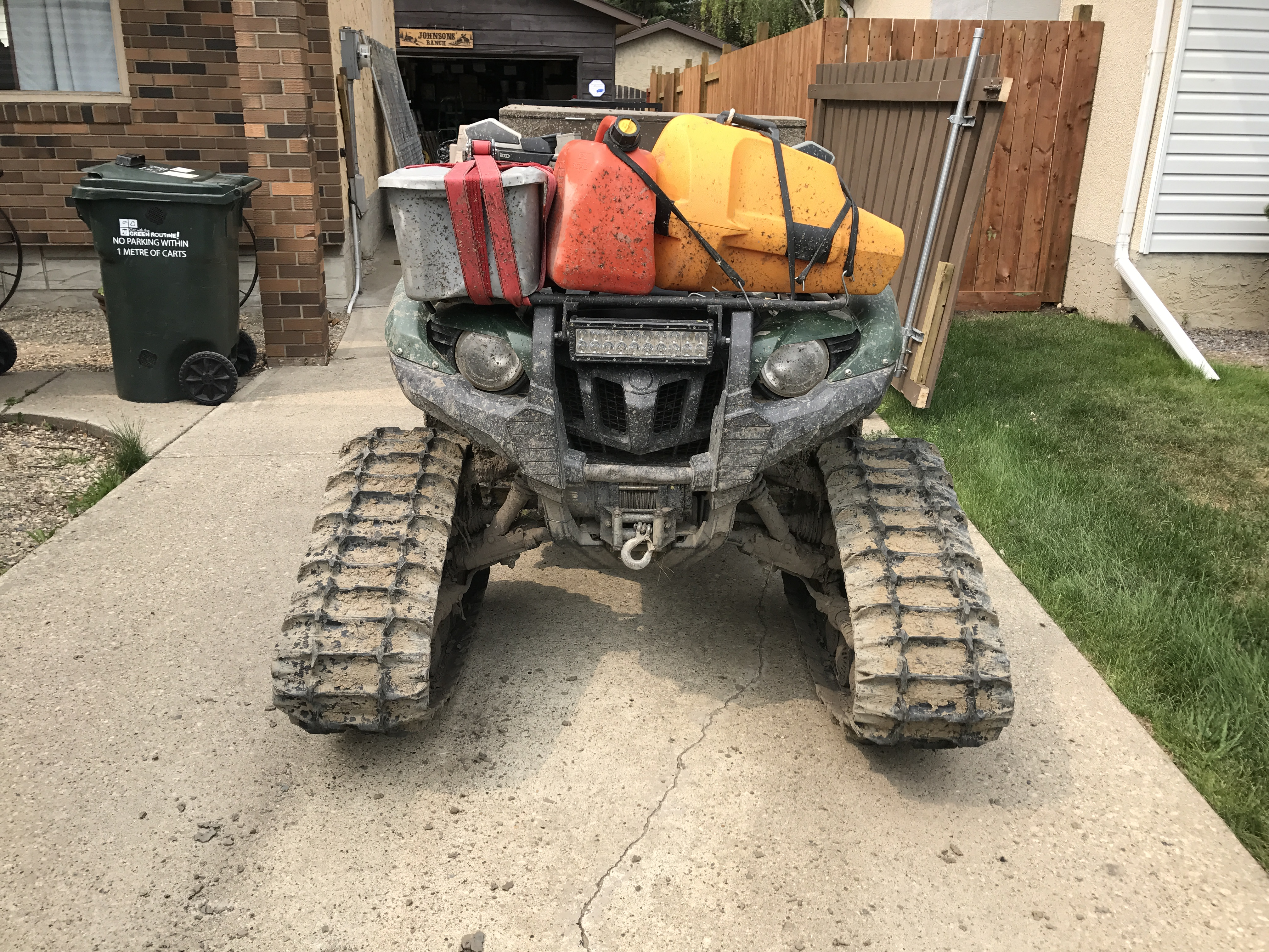 Yamaha Grizzly  Overheating Issues