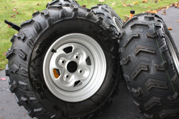 2009 Grizzly 700 Stock Rims & Tires - Yamaha Grizzly ATV Forum