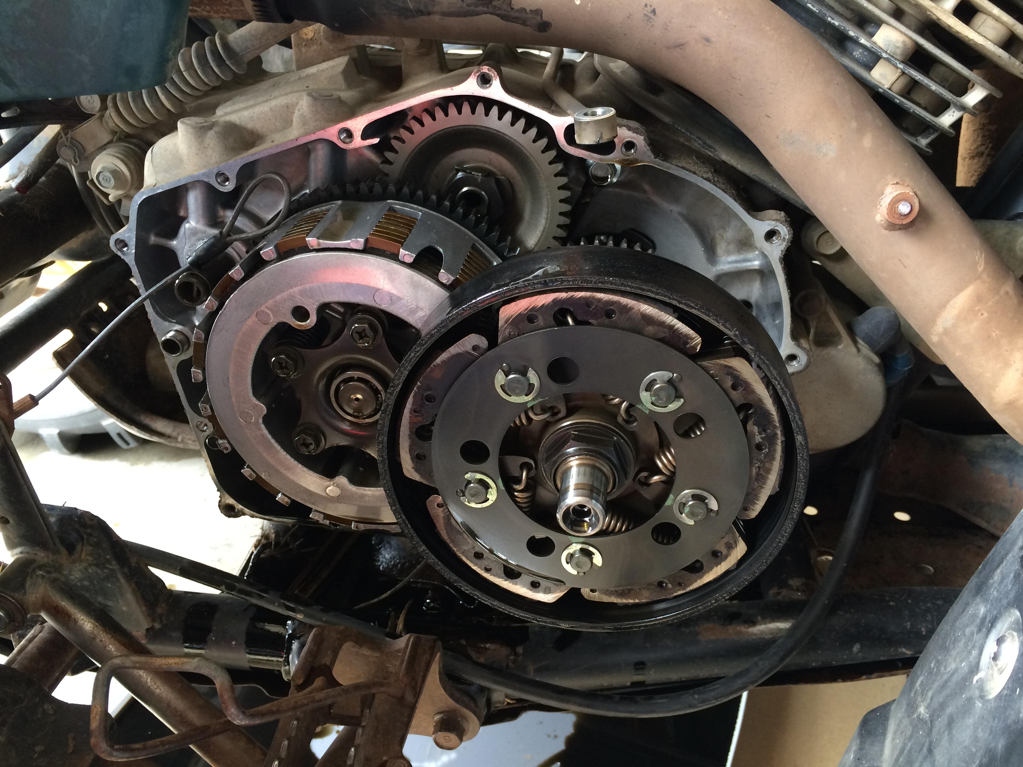 Replace 95 Kodiak Clutches?? See photos.... - Yamaha ...