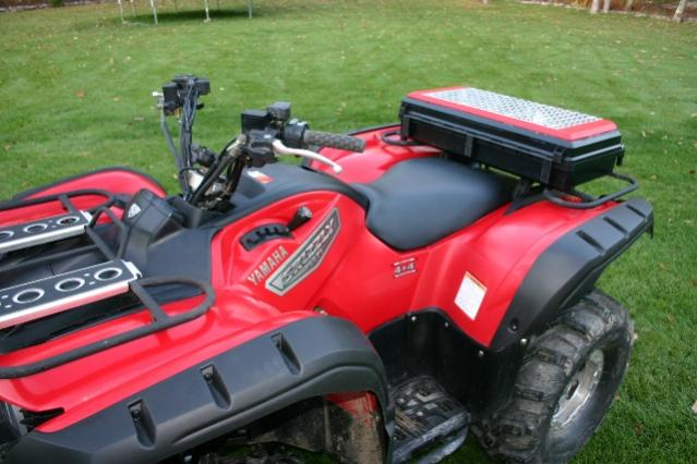 Home Made Storage Boxes Post Here Yamaha Grizzly Atv Forum