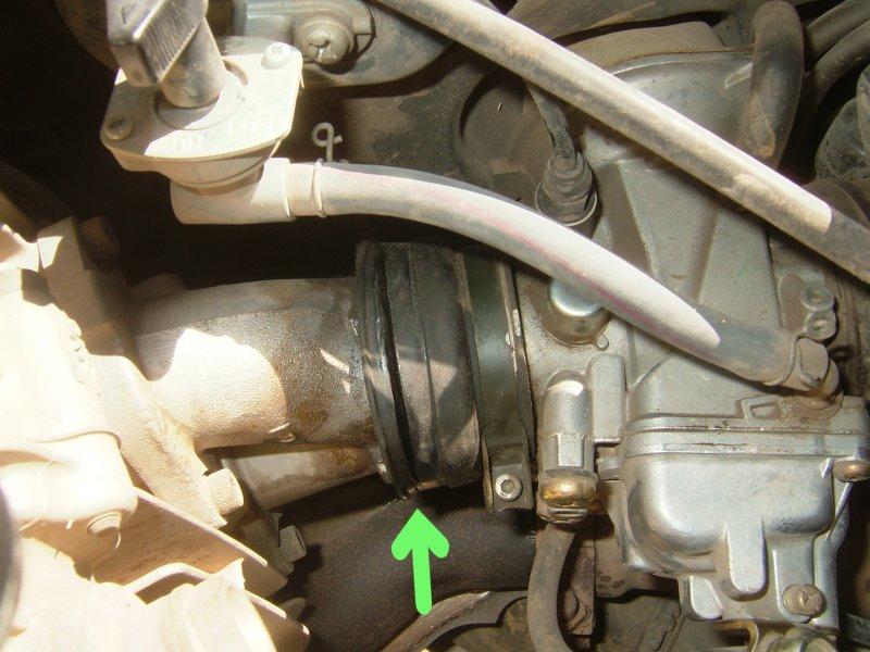 Intake hose cracked - options? - Yamaha Grizzly ATV Forum