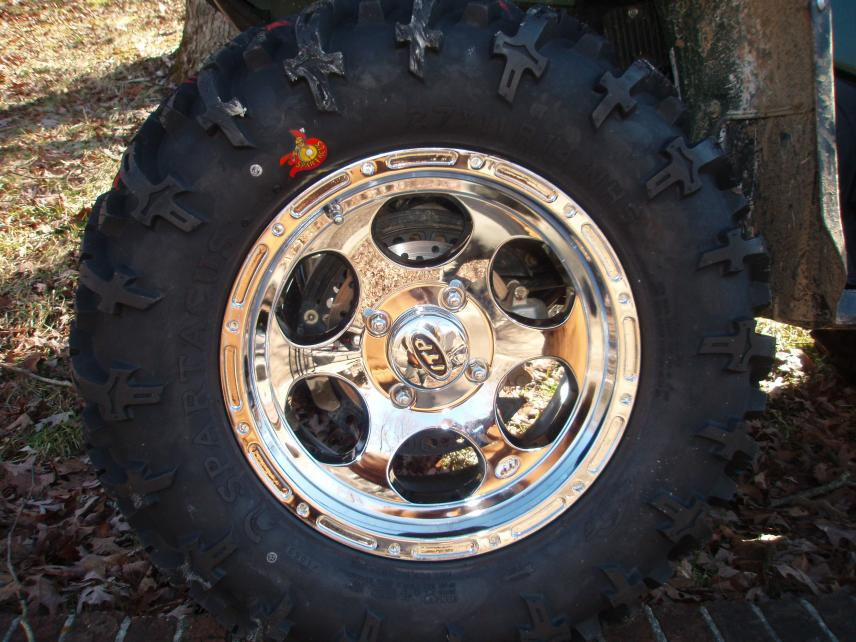 Re Chrome Rims >> Official Wheel / Tire Thread - Page 8 - Yamaha Grizzly ATV Forum