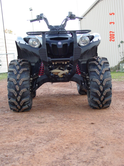 D Tusk Tires Img also D Sw  Fox Plus also D Added Raceline Wheels Moose Bumper Tonight Img additionally Yamaha Raptor Close Up Rear Suspension likewise D Mudzillas Mudd Lites Sw  Lite Kevin Atv. on yamaha grizzly atv tires
