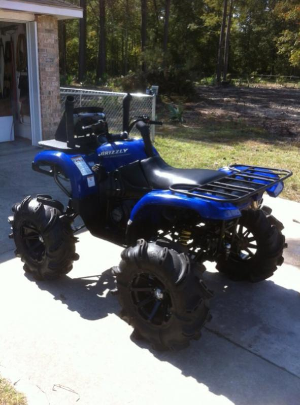 Project 660 feast your eyes yamaha grizzly atv forum for Yamaha grizzly 660 tracks