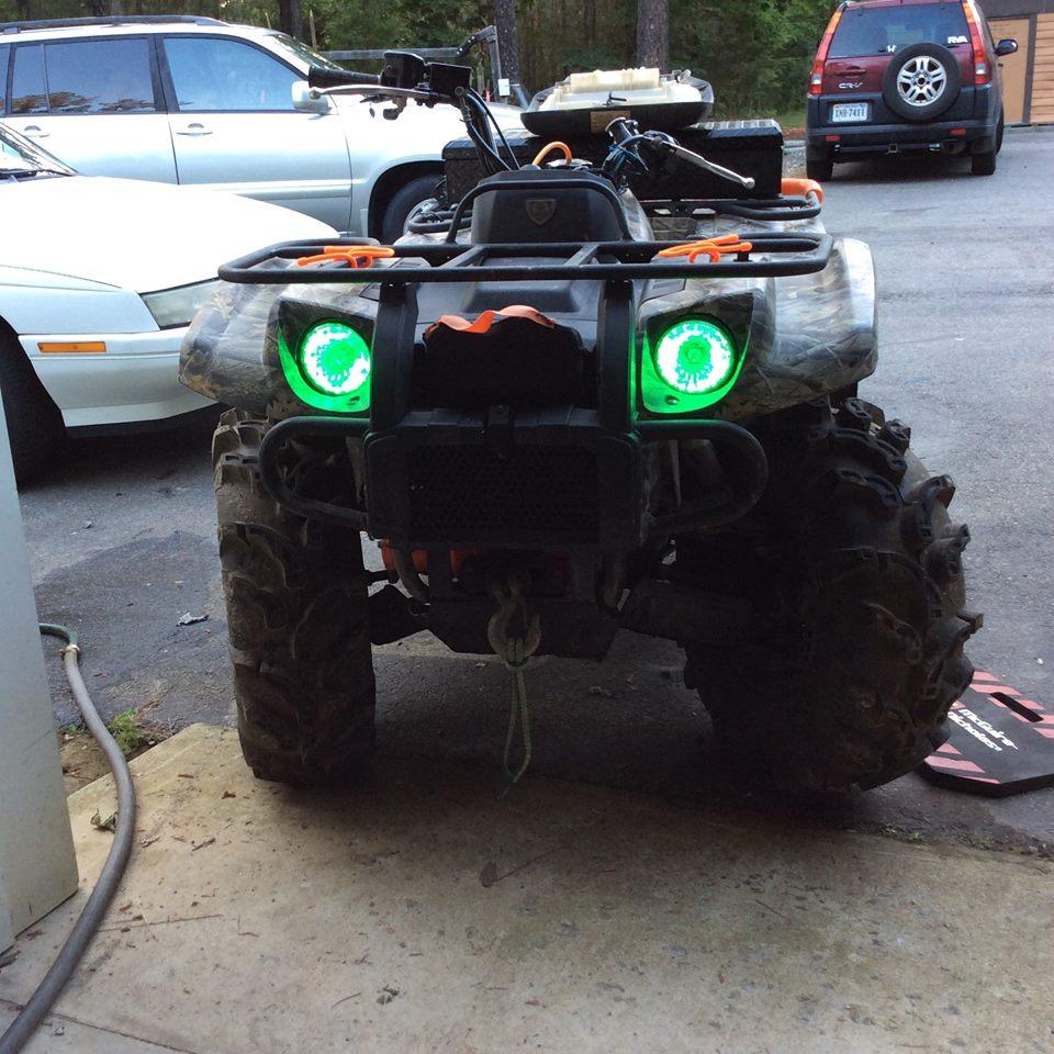 Yamaha Kodiak Led Headlights