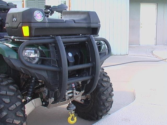 my winch came in warn xt30 looking for installation tips page here s a pic of dd s set up you don t have to squint to see it