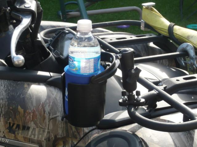 Yamaha Atv Accessories Grizzly RAM drink holder - Yamaha Grizzly ATV Forum
