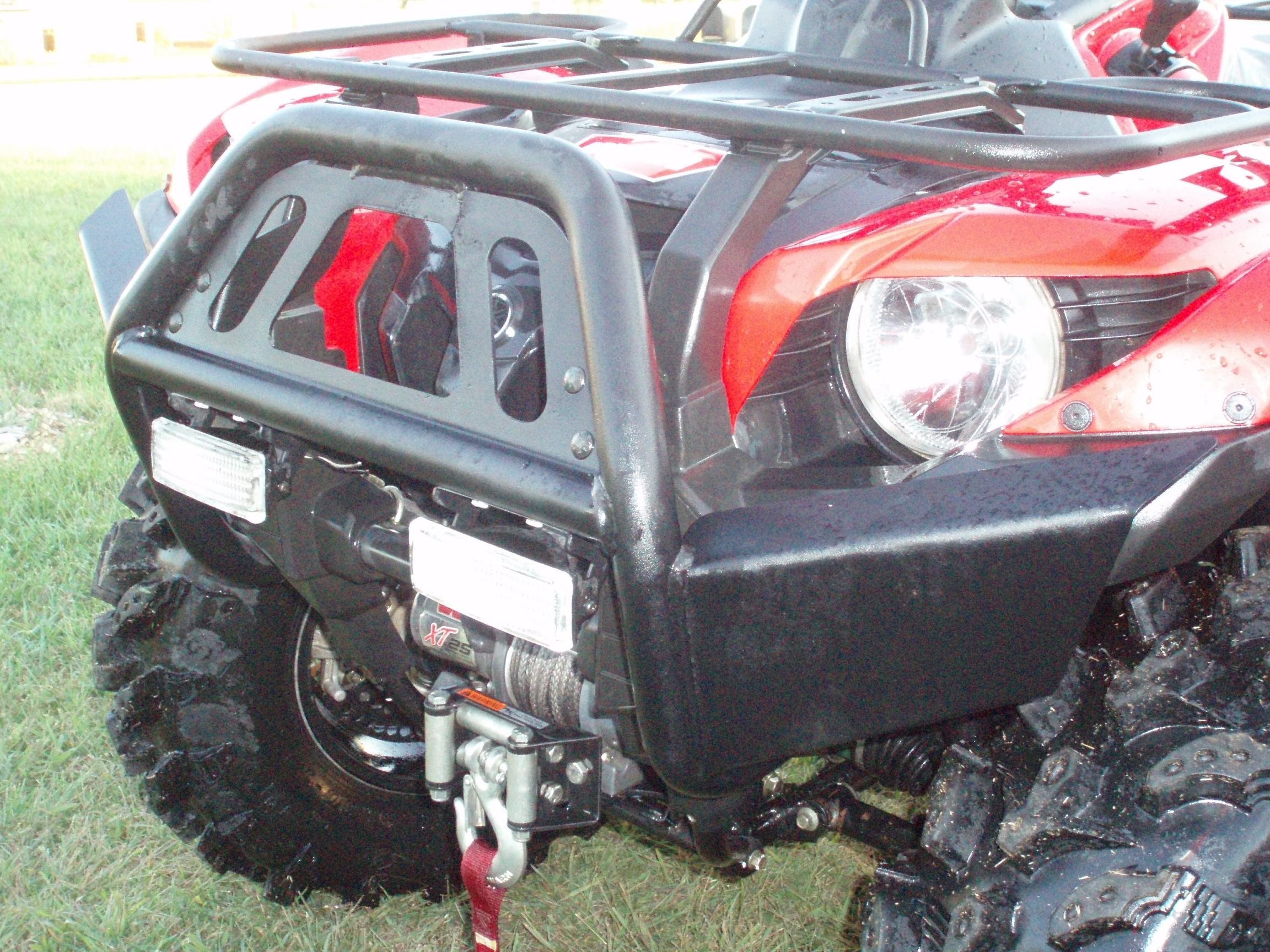 Warn bumper with trail lights yamaha grizzly atv forum click image for larger version name p9120182g views 3230 size 5987 sciox Choice Image