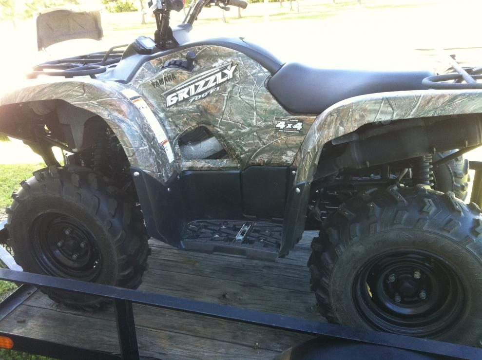 Camo Grizzly 700 for sale 230 miles - Yamaha Grizzly ATV Forum