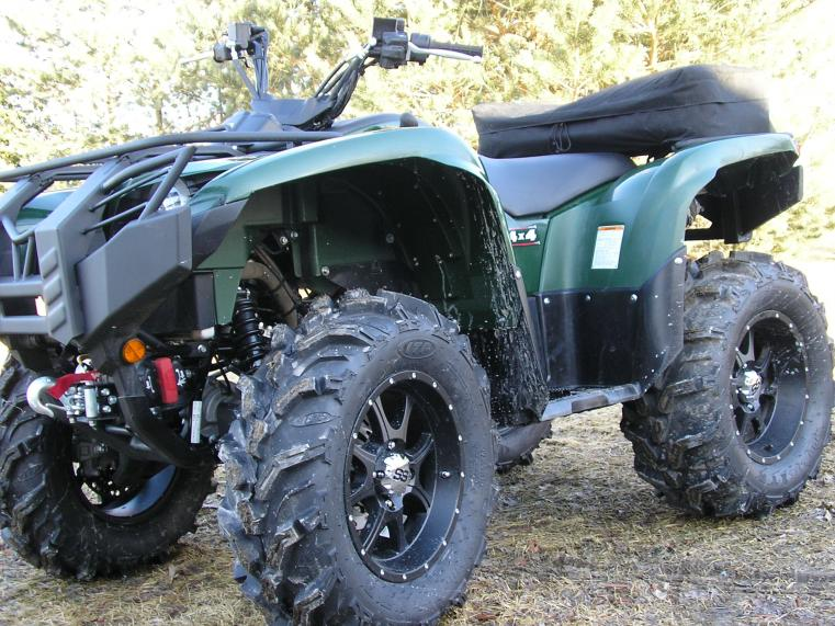 Yamaha Grizzly 660 >> Grizzly 660/700 lets see your tires! - Yamaha Grizzly ATV ...