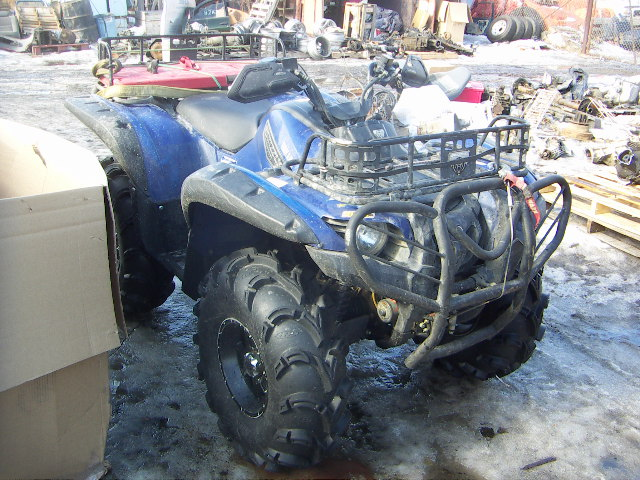 Yamaha Grizzly 450 >> Picture Grizzly 700 over fenders oem - Yamaha Grizzly ATV ...