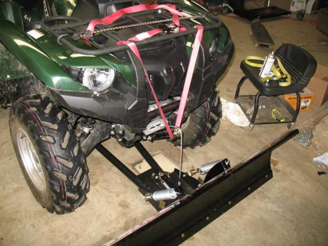 Plow Winch Easy Lift Arm Mod Yamaha Grizzly Atv Forum