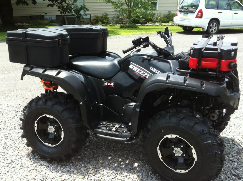 Rigid light bar handlebar mount yamaha grizzly atv forum click image for larger version name picture2 275g views 11184 size aloadofball Images