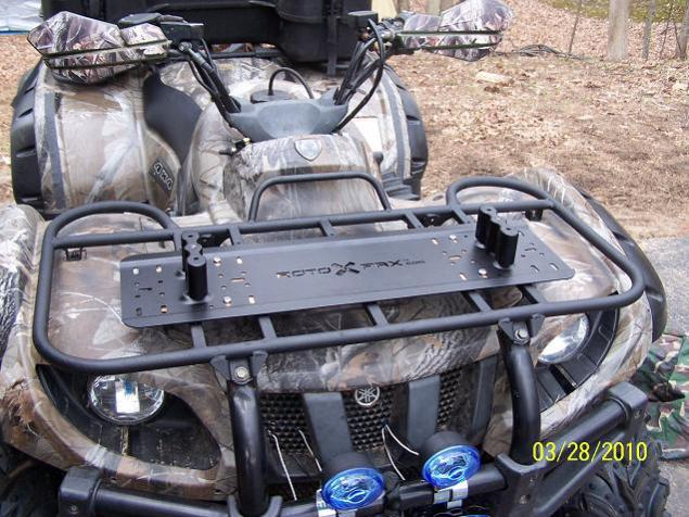 Rotopax Mounting Options Yamaha Grizzly Atv Forum