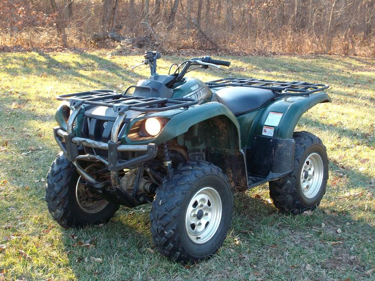 Yamaha Grizzly 660 >> Painting A 2003 Grizzly 660 Yamaha Grizzly Atv Forum