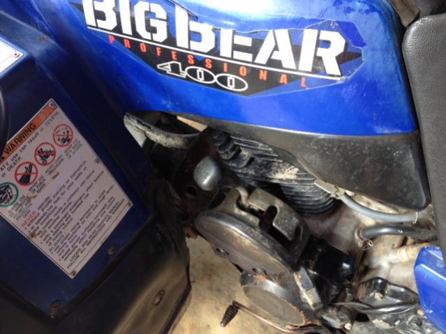Big Bear 400 '05 Really Hard To Shift Reverse Page 2 Yamaha