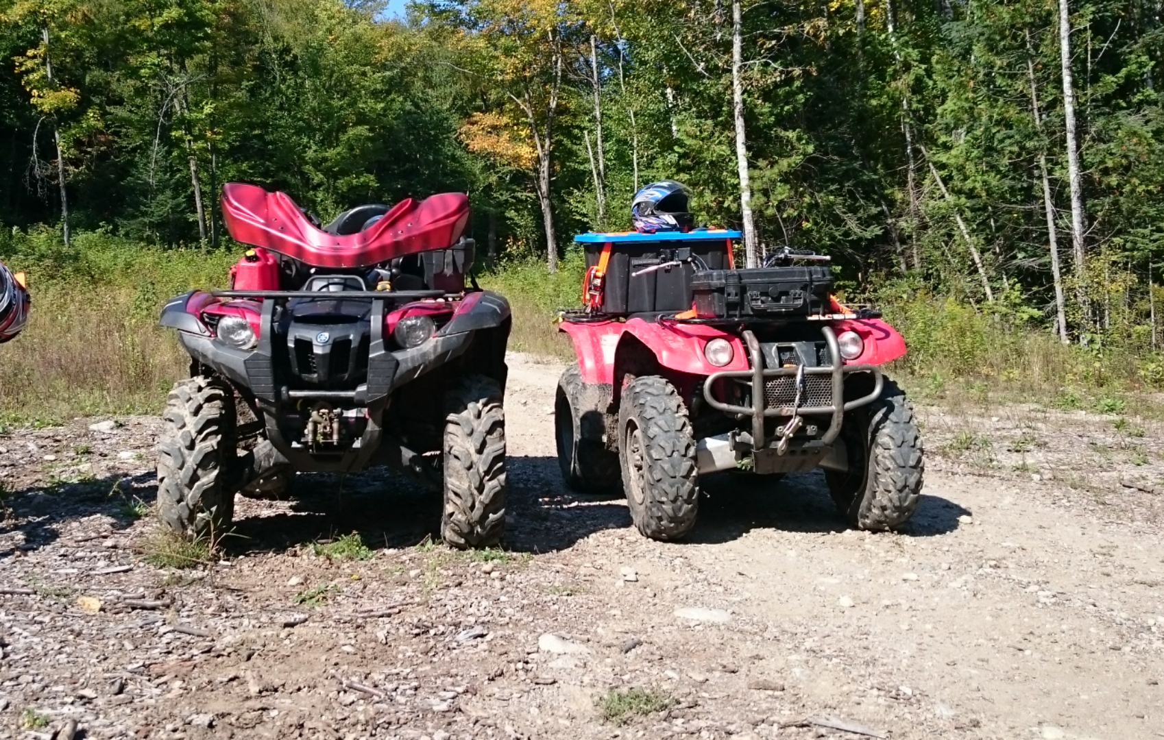 2005 Bruin camber issue - Yamaha Grizzly ATV Forum