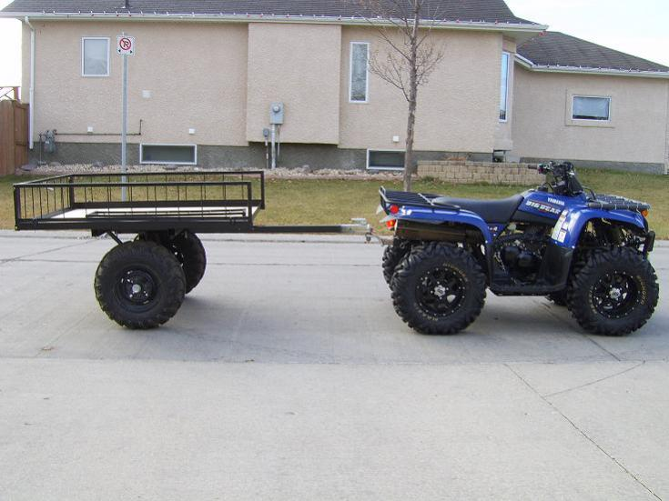 What Kind Of Trailer Do You Pull Behind Your Quad
