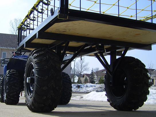 What Kind Of Trailer Do You Pull Behind Your Quad Yamaha Grizzly