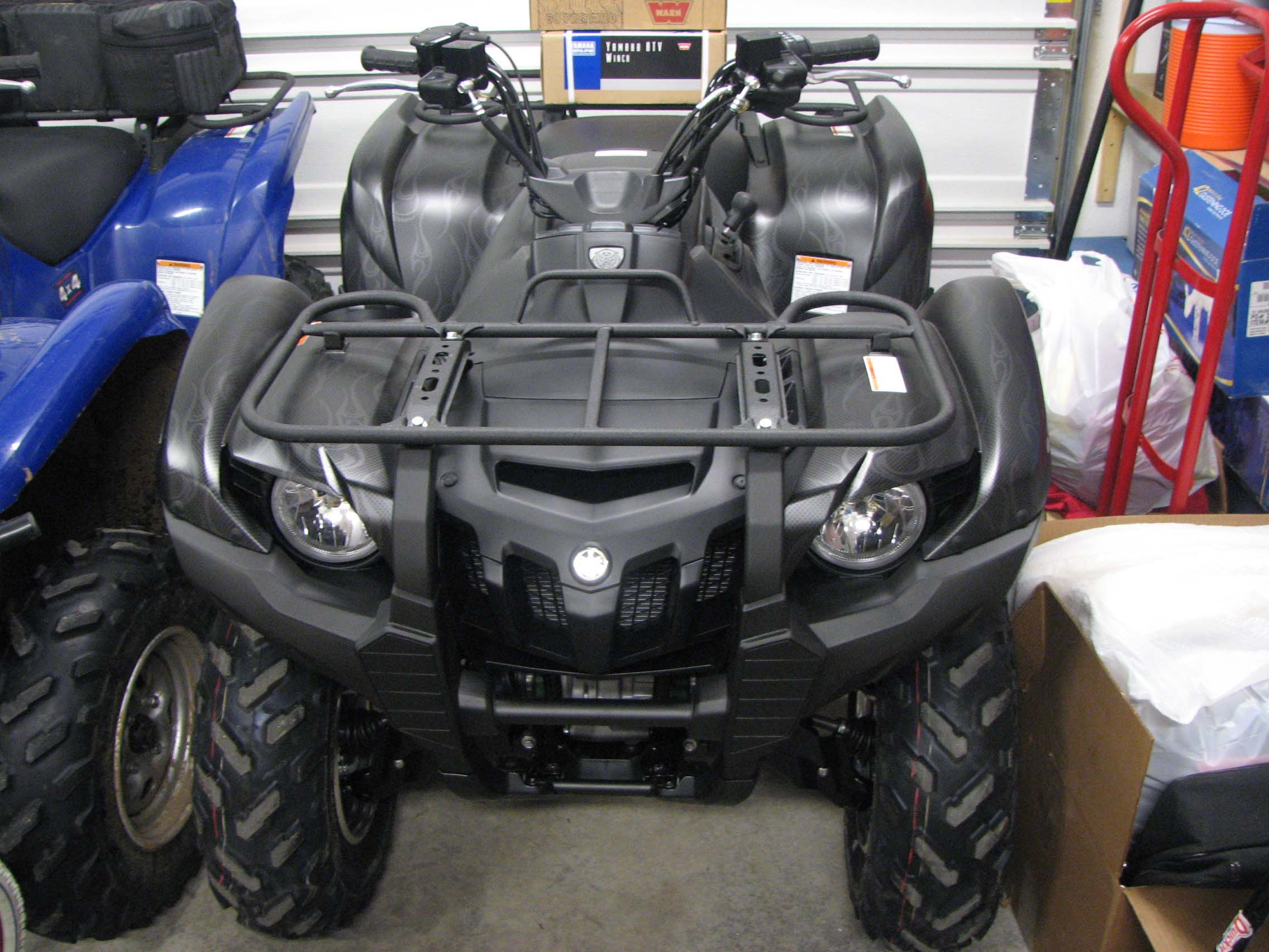 2017 Yamaha Grizzly >> MY 08 SE 700 GRIZZLY IS HERE - Yamaha Grizzly ATV Forum