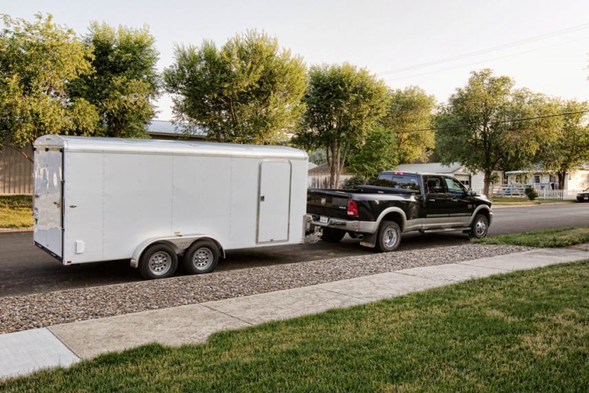 16 Foot Toy Hauler Trailer http://www.grizzlycentral.com/forum/trailers-toy-haulers/17253-our-16ft-enclosed-grizzly-cage.html