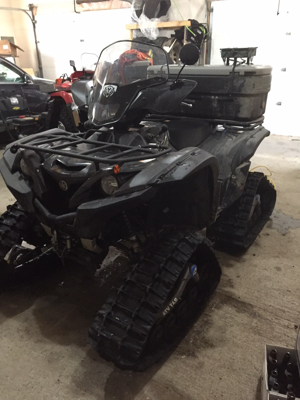 Yamaha Grizzly 700 >> T4S tracks on 2018 Grizzly - Yamaha Grizzly ATV Forum