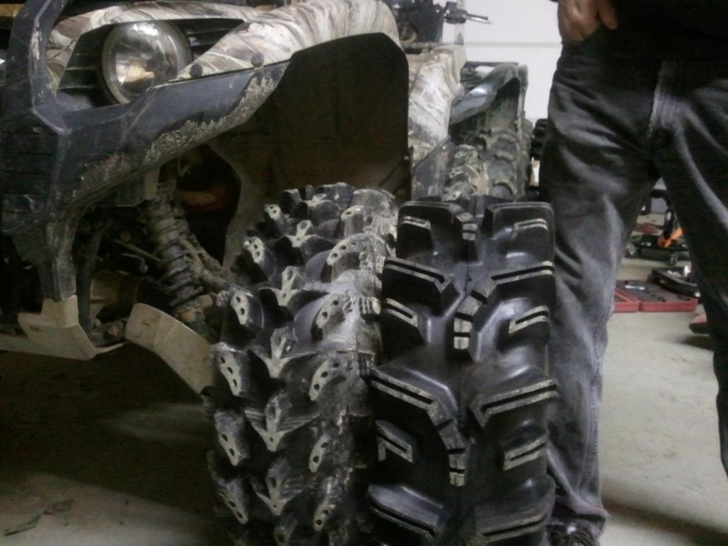 Pay Here Buy Here >> 29.5 Terminators are in!! Well at least 3 are... - Yamaha Grizzly ATV Forum