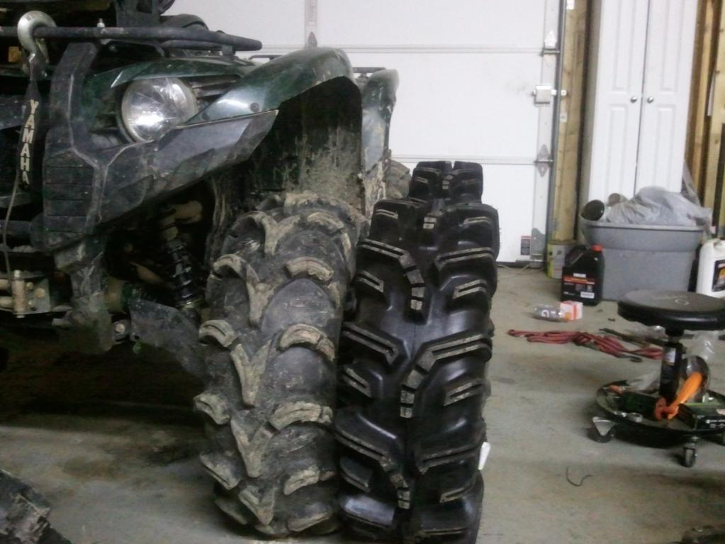 Yamaha Grizzly 700 >> 29.5 Terminators are in!! Well at least 3 are... - Yamaha ...