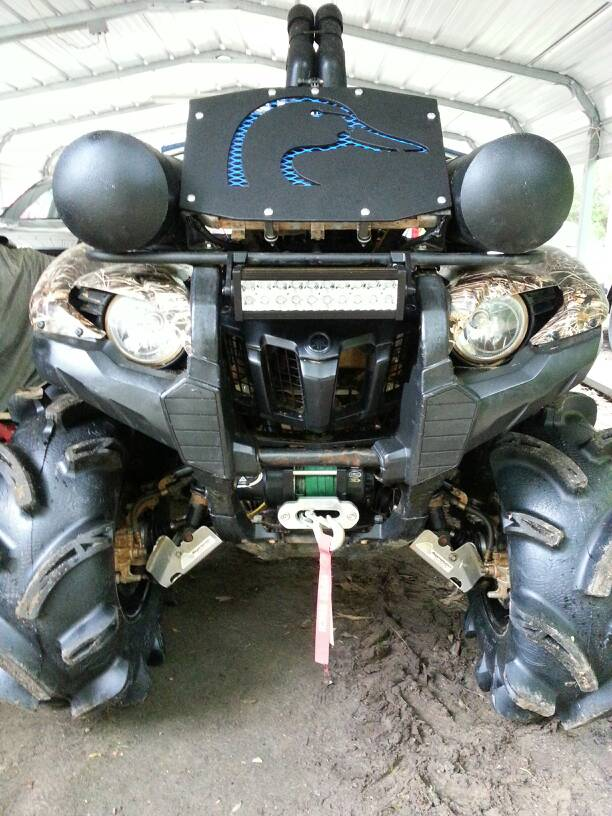 Grizzly 700 Winter Project Yamaha Grizzly Atv Forum