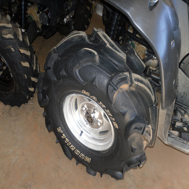 28 inch Maxxis Mudzillas for sale $350 pics here - Yamaha Grizzly ATV ...