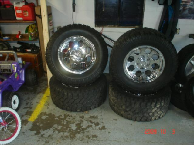 18 Inch Tires >> trade chrome 18 inch f-150 rims and tiers for grizzly rimms and tires - Yamaha Grizzly ATV Forum