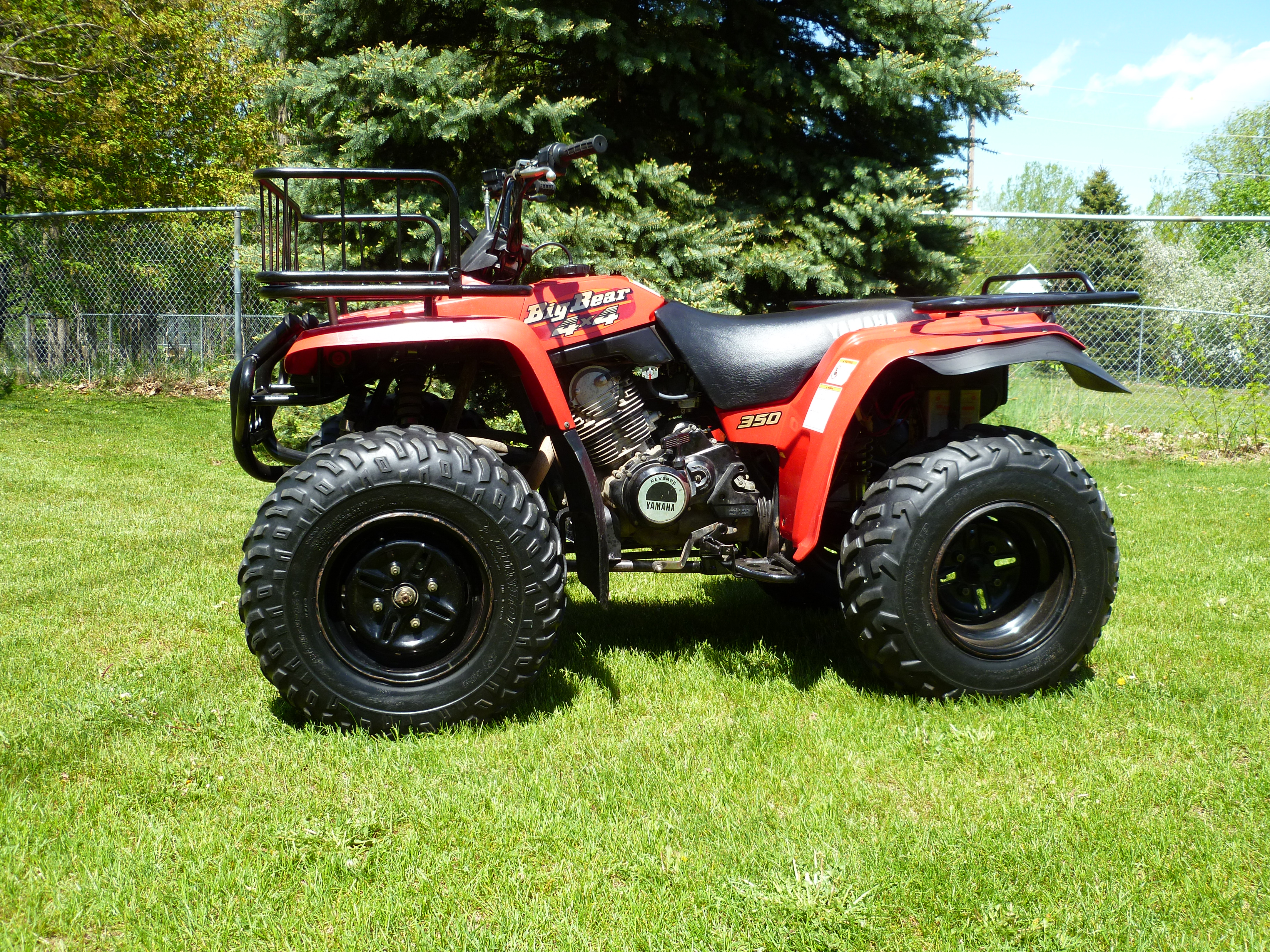 Big bear year identification very bizarre yamaha for What year is my yamaha atv