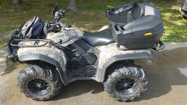 Showcase cover image for 2014 Yamaha Grizzly 450 EPS Hunter Edition