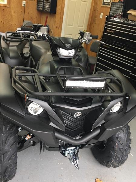 Showcase cover image for GMANN's 2017 Yamaha Grizzly