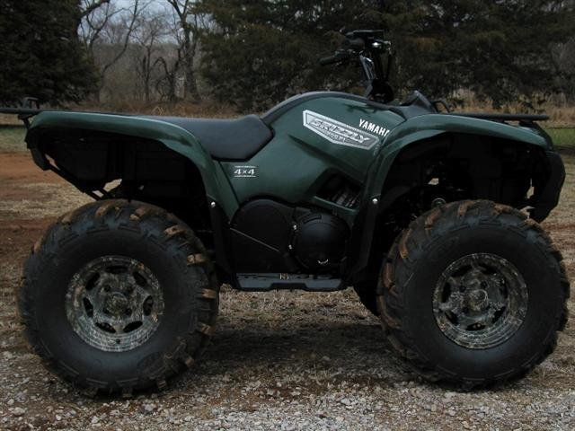 Showcase cover image for GreenGrizzRider's 2007 Yamaha Grizzly 700 4x4 FI EPS