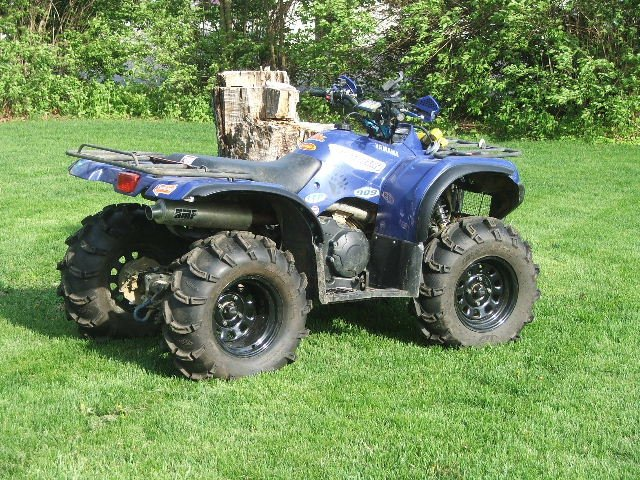 Showcase cover image for Grizzly Ed's 2007 Yamaha Grizzly 350