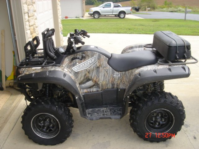 Showcase cover image for Wolverine587's 2007 Yamaha Grizzly 700 4x4 FI EPS