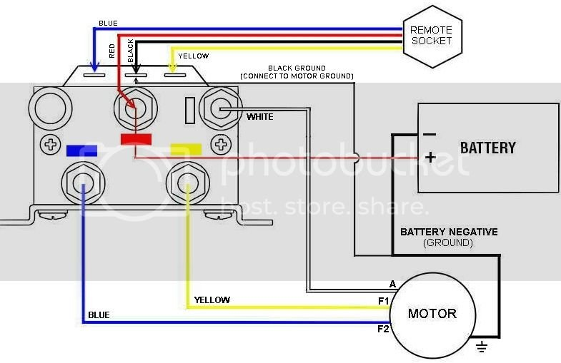 Need A Winch Wiring Diagram