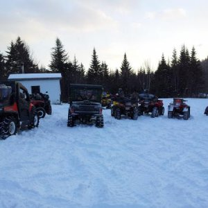 One of our ATV Club warm shelters.