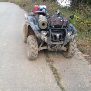 Windrock ATV Park, at Mandy's Cross