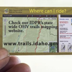 Idaho Trail Map Online